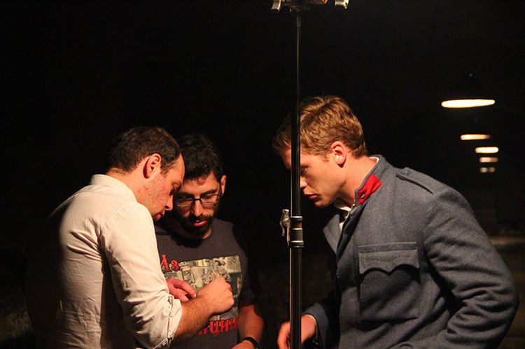 """Snimanje filma """"Sjene"""". Izvor: www.filmsjene.rs"""